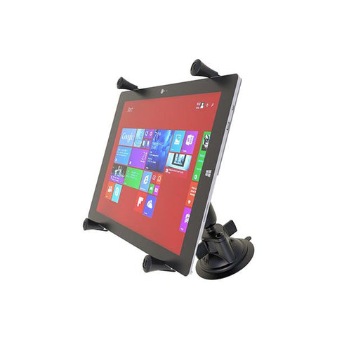 RAM® X-Grip® Large Tablet Mount with RAM® Twist-Lock™ Suction Cup Base (RAM-B-166-UN11U)