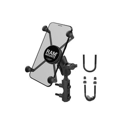 RAM® X-Grip® Large Phone Mount with Brake/Clutch Reservoir Base (RAM-B-174-A-UN10U)