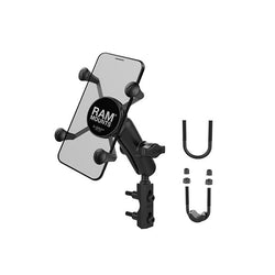 RAM® X-Grip® Phone Mount with Motorcycle Brake/Clutch Reservoir Base (RAM-B-174-UN7U)