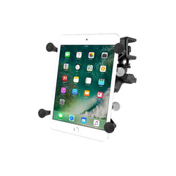"RAM® X-Grip® Mount with Glare Shield Clamp Base for 7""-8"" Tablets (RAM-B-177-UN8U)"