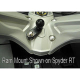 "RAM Motorcycle Base 11mm hole 1"" Ball (RAM-B-252U) - Image3"