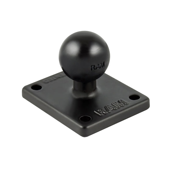 RAM Base with Ball & AMPs Pattern for Garmin zumo, TomTom Rider & Urban Rider (RAM-B-347U) - RAM Mount Australia