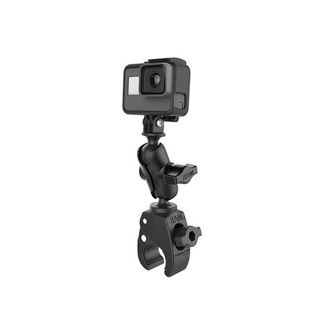 RAM® Tough-Claw™ Small Clamp Mount with Universal Action Camera Adapter (RAM-B-400-A-GOP1U)