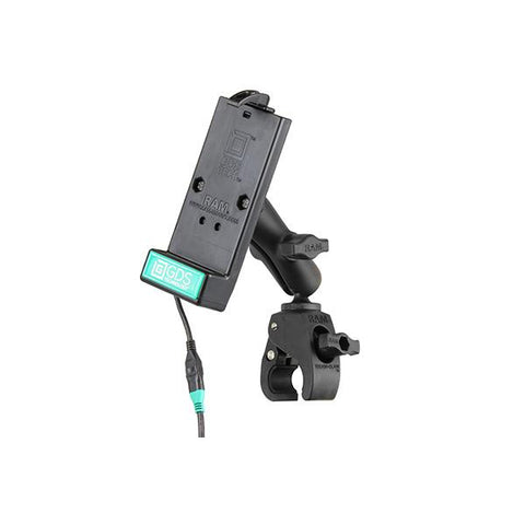 GDS® Powered Phone Dock with RAM® Tough-Claw Small Clamp Mount (RAM-B-400-GDS-DOCK-V1U)
