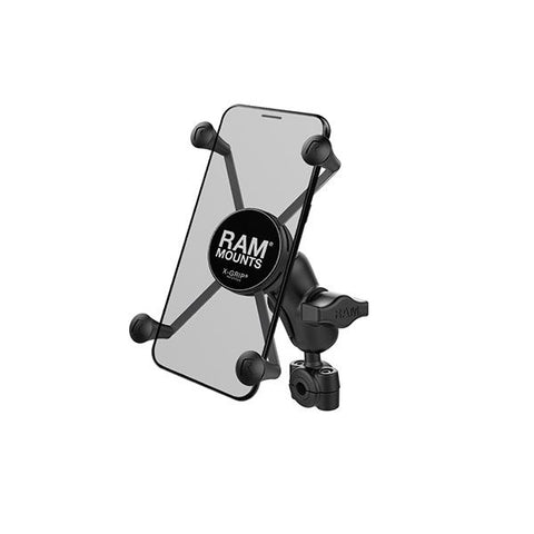 RAM® X-Grip® Large Phone Mount with RAM® Torque™ Small Rail Base (RAM-B-408-37-62-A-UN10)