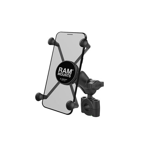 RAM® X-Grip® Large Phone Mount with RAM® Torque™ Medium Rail Base (RAM-B-408-75-1-A-UN10)