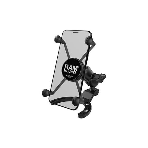 RAM® X-Grip® Large Phone Mount with Small Gas Tank Base (RAM-B-410-A-UN10BU)
