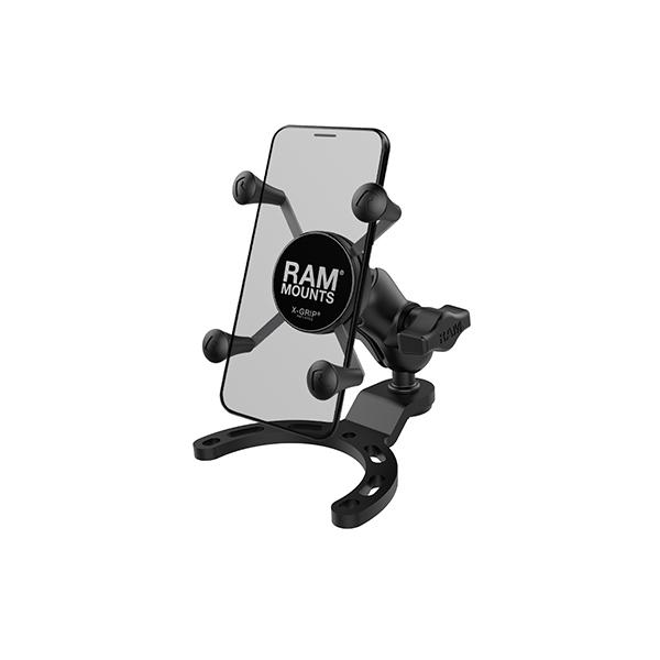 RAM® X-Grip® Phone Mount with Small Gas Tank Base (RAM-B-410-A-UN7BU)