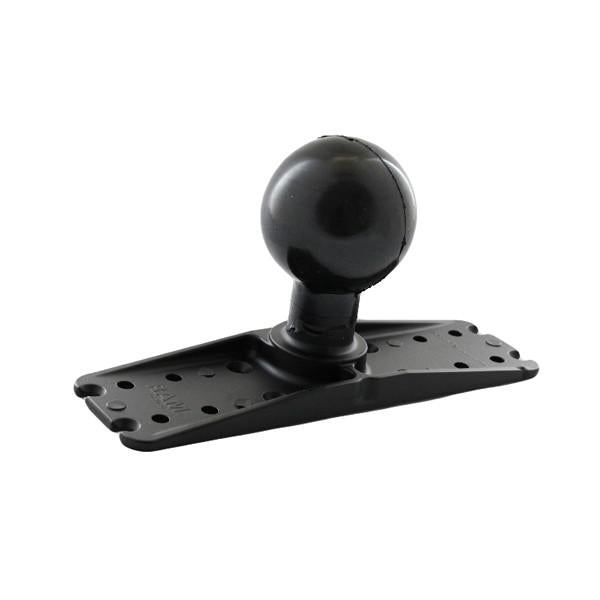 "RAM 3"" x 11"" Rectangle Base with 3.38"" Ball (RAM-E-111BU) - Image1"
