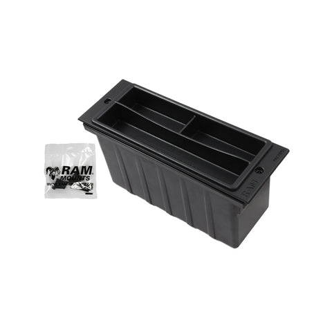 "RAM 3"" Wide Accessory Pocket with Tray (RAM-FP3-AP) - Mounts AU - RAM Mounts Australia"