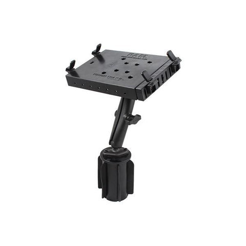 RAM® Tough-Tray™ II Tablet Holder with RAM-A-CAN™ II Cup Holder Mount (RAP-299-3-C-234-6U)
