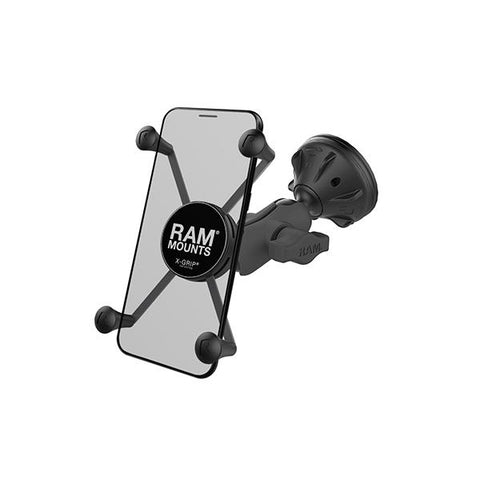 RAM® X-Grip® Large Phone Mount with Composite Suction Cup Base (RAP-B-224-2-A-UN10U)