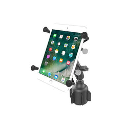 "RAM® X-Grip® for 7""-8"" Tablets with RAM® Stubby™ Cup Holder Base (RAP-B-299-4-UN8U)"