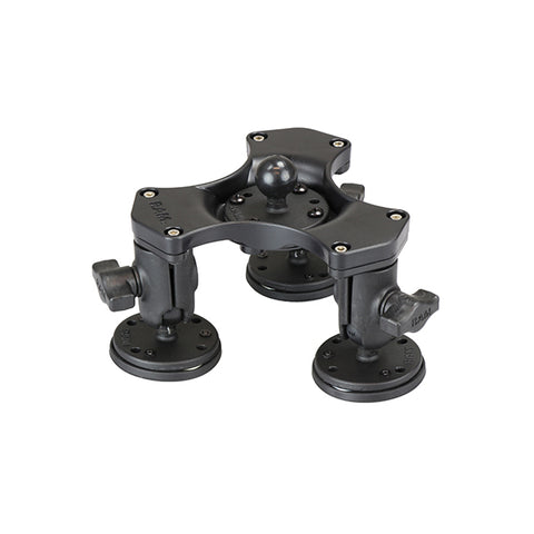 RAM® Triple Ball and Socket Magnetic Base with Ball (RAP-B-365-1-339U)-Image-1