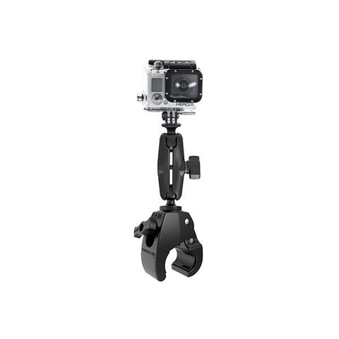 RAM® Tough-Claw Medium Clamp Mount with Universal Action Camera Adapter (RAP-B-404-GOP1U)