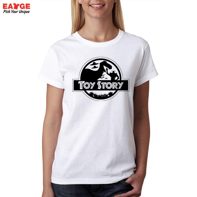 Toy Story T Shirt Design Fashion Cartoon Character Silhouette Cool