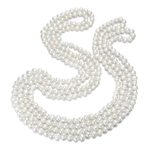100 Inch Freshwater Pearl Endless Necklace