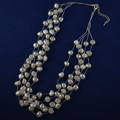 5-Row Freshwater Pearl Necklace