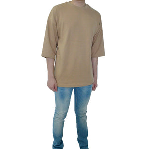 Classic / Over Tee - Dark Beige Tee - Chimaek Collective