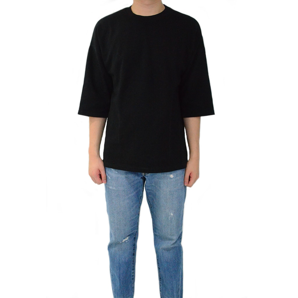 Classic / Over Tee - Soft Black Tee - Chimaek Collective