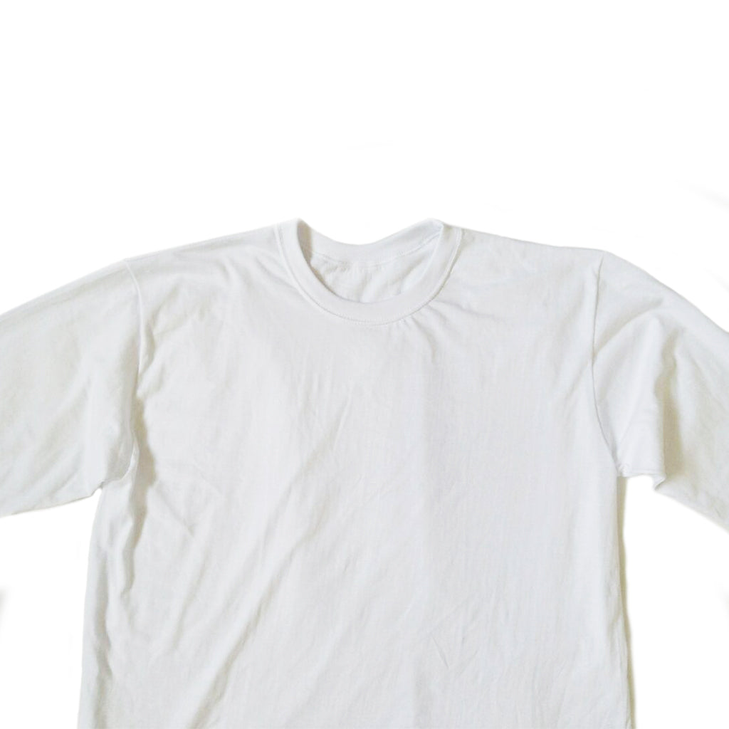 Classic / Long Tee - Soft White Long-Sleeved Tee - Chimaek Collective