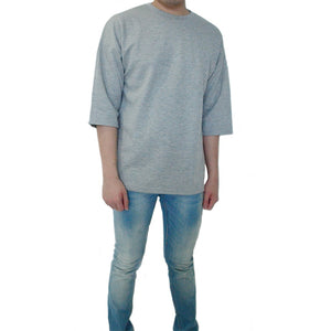 Classic / Over Tee - Pale Grey Tee - Chimaek Collective