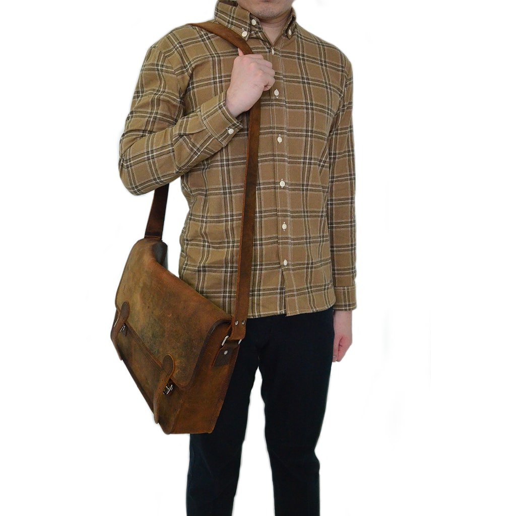 Shirt / Flannel - Dark Beige Shirts - Chimaek Collective
