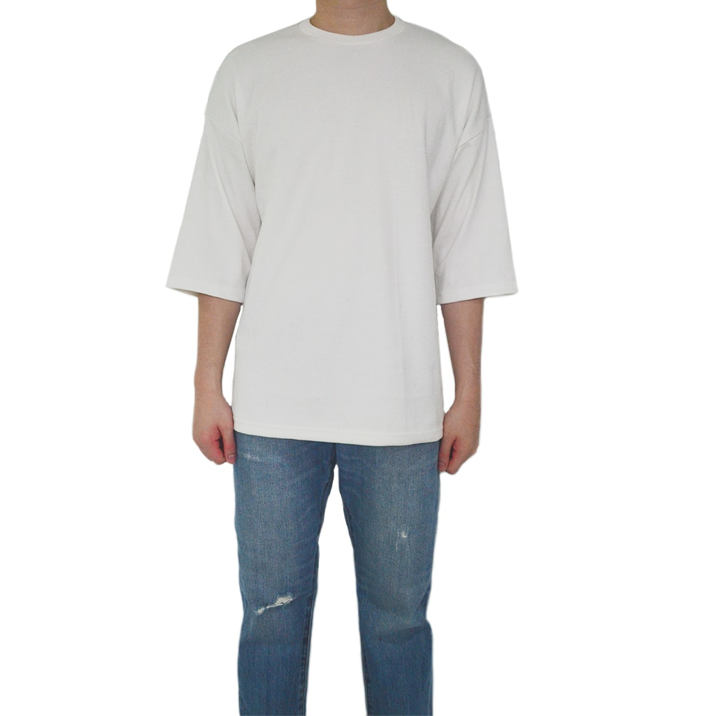 Classic / Over Tee - Off White Tee - Chimaek Collective