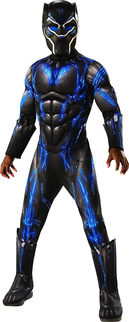 Black Panther Battle Suit Deluxe Muscle Chest Child Costume