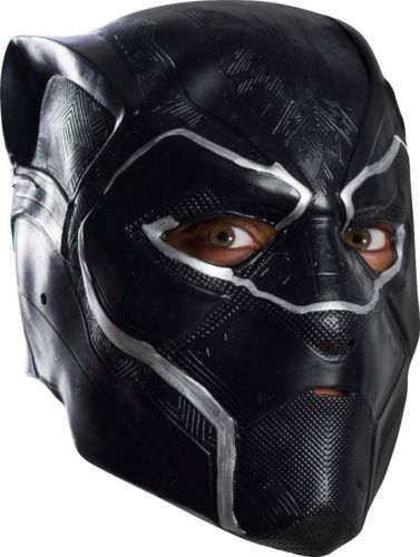 Black Panther Adult 3/4 vinyl Mask Costume Accessory