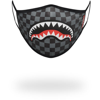 SHARKS IN PARIS (GREY) FORM-FITTING MASK