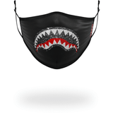 TRINITY CRYSTAL MASK (BLACK)