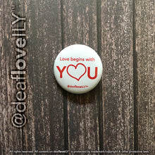 "deafloveILY Buttons (1.25"") : 6 Options!"