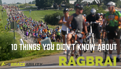 10 Things You Didn't Know About RAGBRAI - America's Largest Bike Ride