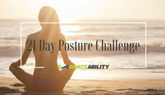21 Day Posture Challenge (Exercises & Stretches to Stand Up Straight)