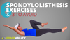 six best spondylolisthesis treatment physical therapy exercises