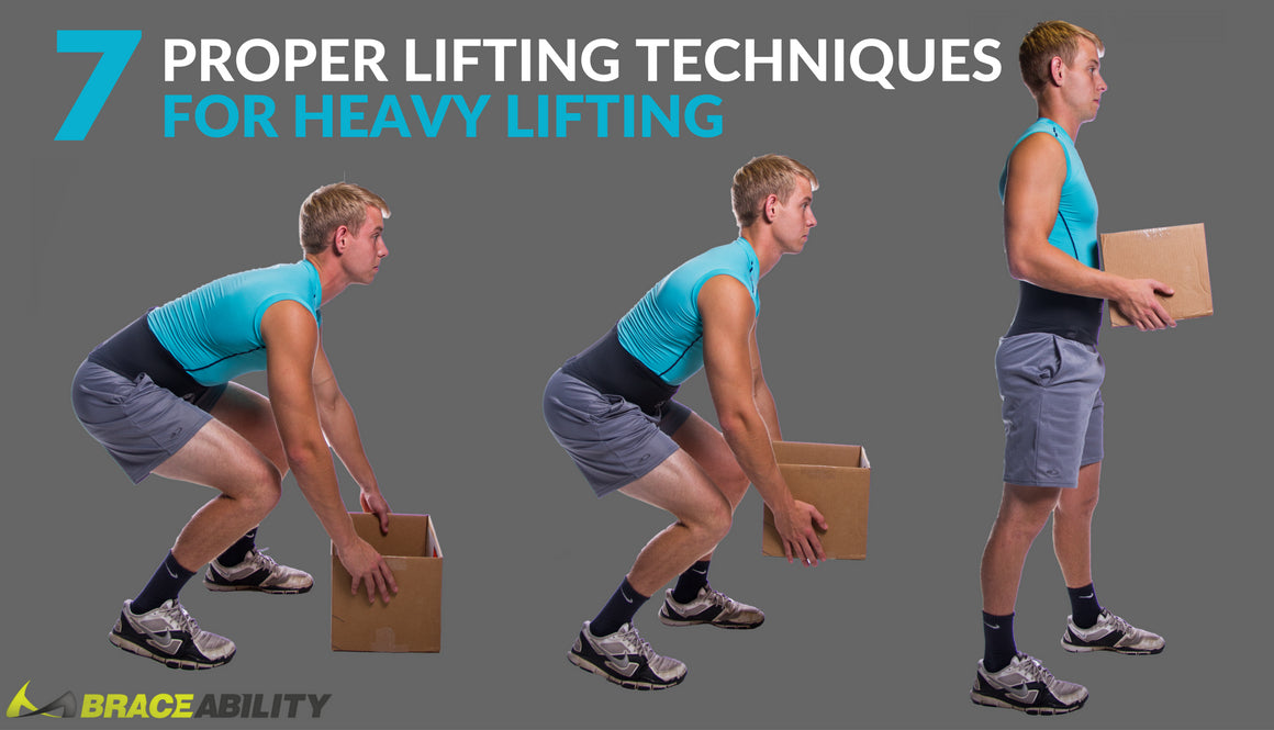 7 proper lifting techniques for heavy objects