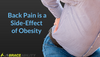 being overweight can cause back pain from obesity