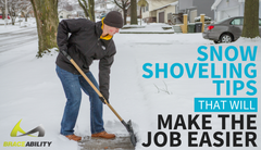 Snow Shoveling Tips That Will Make the Job Easier (and Safer)
