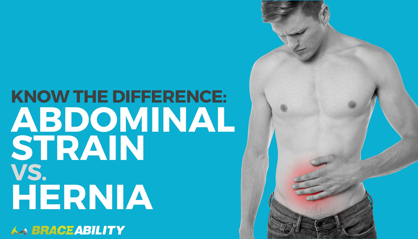 Know The Difference: Abdominal Strain vs  Hernia