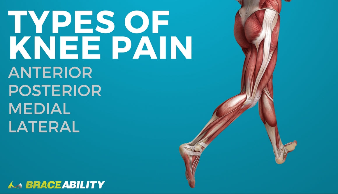 Types of Knee Pain: Anterior, Posterior, Medial, & Lateral