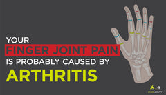 Your Finger Joint Pain is Probably Caused by Arthritis