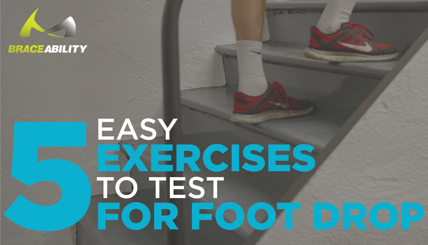Foot Drop Test | 5 Easy Exercises to Diagnose Peroneal Nerve