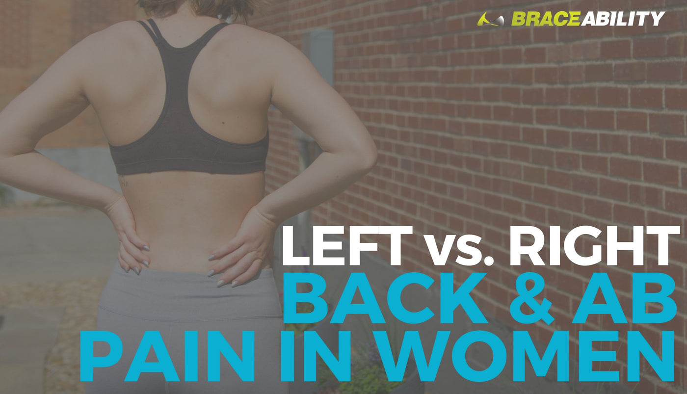 Left vs. Right Back and Abdominal Pain in Women