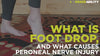 find out what foot drop is and what causes peroneal nerve injuries