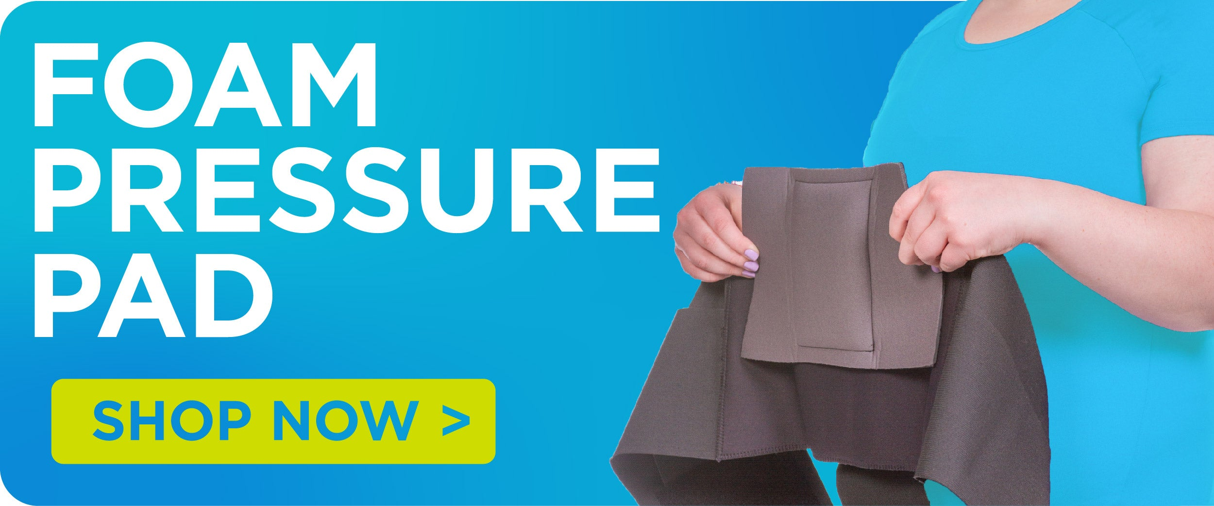 purchase a foam pressure pad for your sleeping back brace