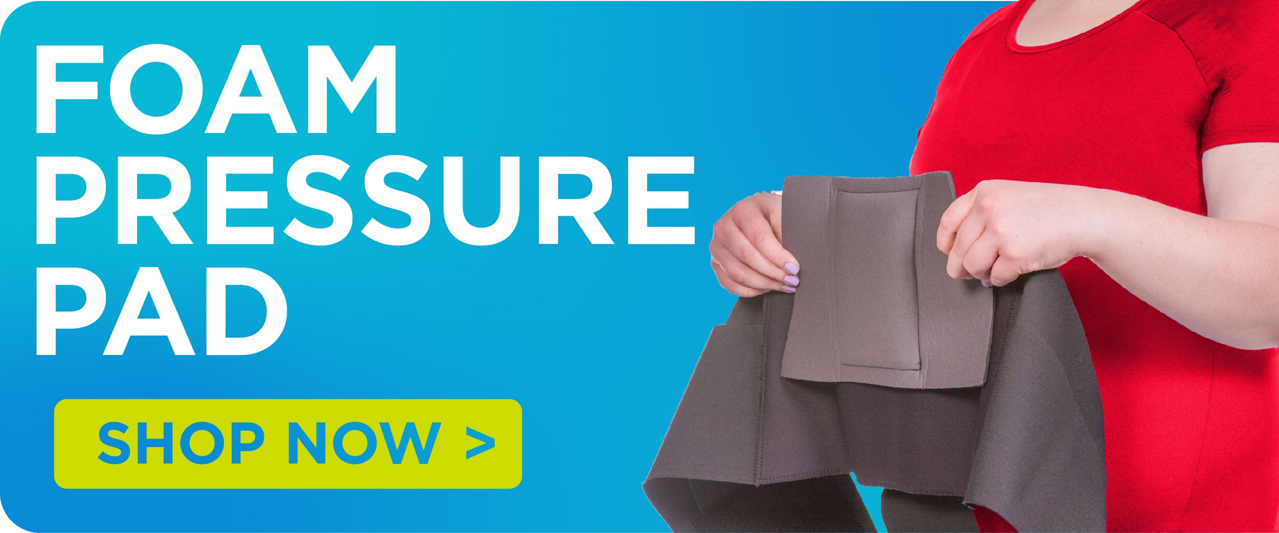 purchase a foam pressure pad for your lower back brace