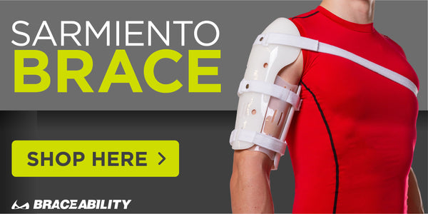 Shop the broken humerus sarmiento brace on our website here