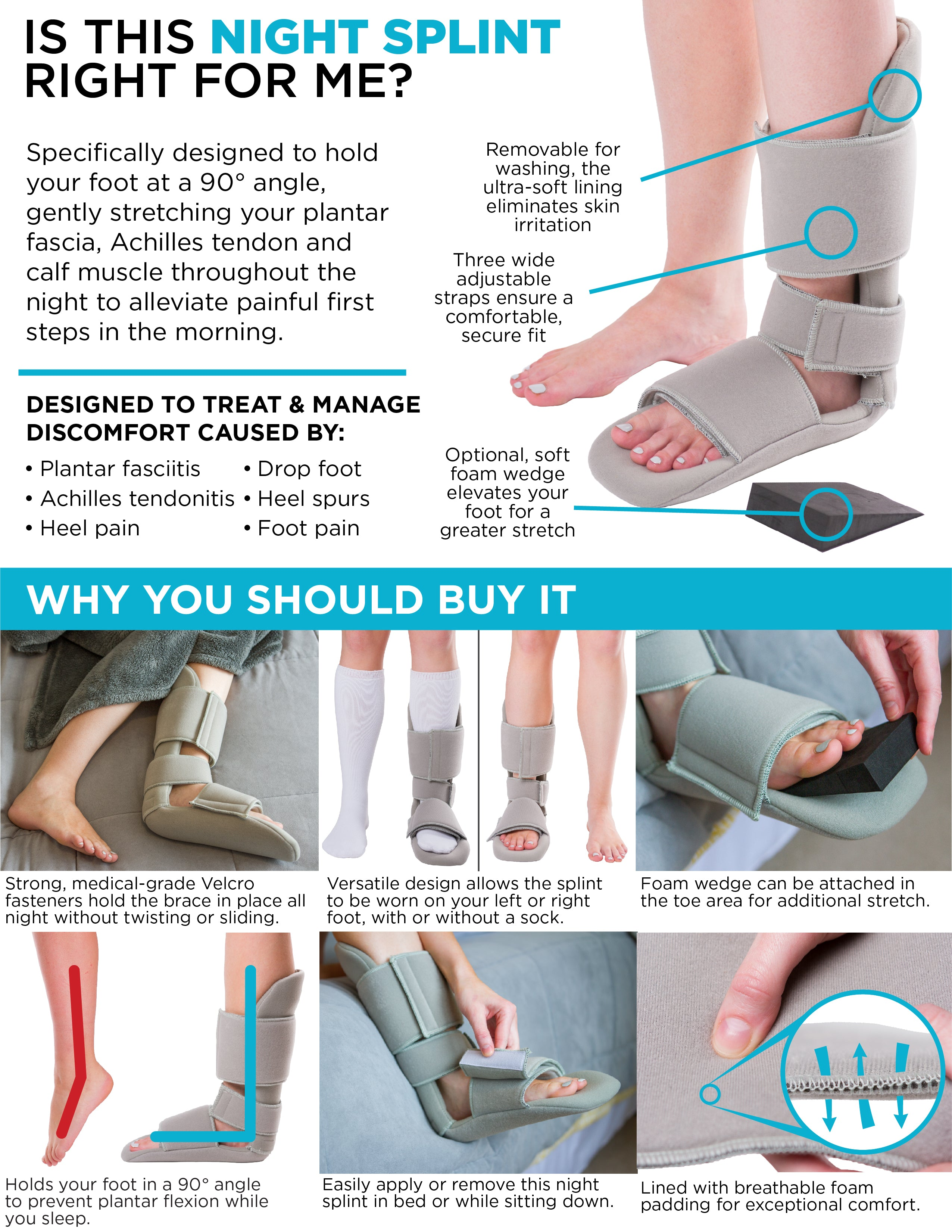 I Slept in This Plantar Fasciitis Splint for 2 Weeks and It Completely Cured My Foot Pain