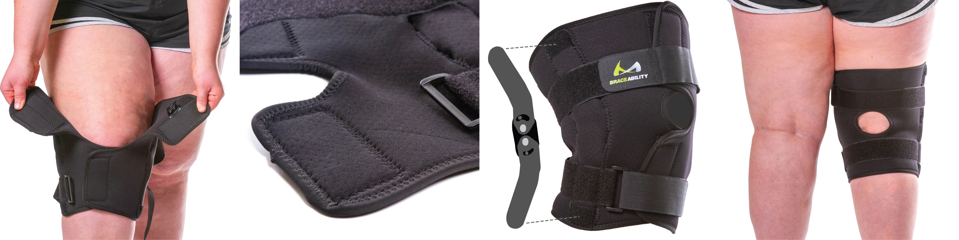 best features of the bariatric plus size hinged knee brace